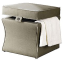 Jaclyn Smith Today Tailored Storage Ottoman + pickup at Kmart