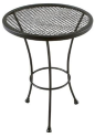 Wrought Iron Patio Side Table + pickup at Home Depot