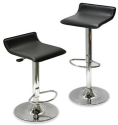Set of 2 Modern Airlift Bar Stools via V.me by Visa