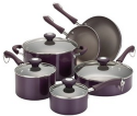 Paula Deen 10pc Non-Stick Cookware for $96