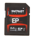 Patriot 64GB EP UHS-I Class 10 SDXC Card