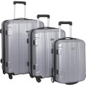 Traveler's Choice Rome 3-Piece Hardshell Luggage