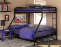 Dorel Twin Over Futon Bunk Bed