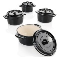 Wolfgang Puck 8-Piece Mini Cocotte Set for $50