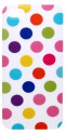Polka Dot Smooth TPU Case Cover for iPhone 5