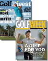 Golf Digest Magazine and Golf Week 1-Year Subscription (57 issues)