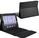 Bluetooth Keyboard Leather Case for iPad, iPad 2, more for $24 + free shipping