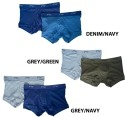 2(x)ist Basics Collection No-Show Trunks 2-Pack