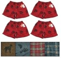 Men's Flannel Boxers 4-Pack