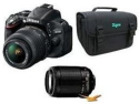 Nikon D5100 16MP Digital SLR w/ 2 lenses, bag for $697 + free shipping