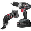 Refurb Porter-Cable 18V Cordless Drill, Oscillating Kit for $50 + free shipping