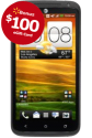 HTC One X+ 4G AT&T Android Phone, $100 Walmart GC for $150 + free shipping