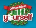 OfficeMax Elf Yourself Year-At-A-View Photo Calendar + pickup