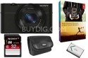 Sony Cyber-shot DSC-RX100 20MP Digital Camera Kit