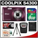 Refurb Nikon Coolpix 16MP Digital Camera Bundle
