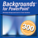 300 PowerPoint Backgrounds for PC or Mac