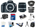 Canon EOS Rebel T3 12MP DSLR Bundle via Visa V.me