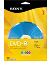Sony DVD-R Media 5-Pack + pickup at Fry's