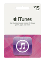 iTunes Gift Cards at Best Buy: 15% off for Reward Zone members