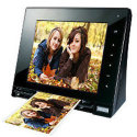 "Skyla 8"" Memoir Digital Photo Frame with Scanner for $30 + free shipping"
