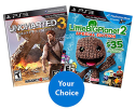 2 PS3 Video Games for $30 + $4 s&h: Uncharted 3, God of War