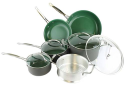 Orgreenic 10-Piece Cookware Set for $110