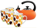 Rachael Ray Little Hoot Tea 5pc Set for $30