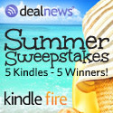 Winner of Amazon Kindle Fire in the Summer Sweepstakes from !!dealnews!!