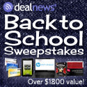 Winner of $1,800+ in prizes in the Back-to-School Sweepstakes from !!dealnews!!