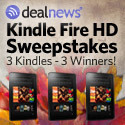 Winner of the Kindle Fire HD in the October Sweepstakes from !!dealnews!!