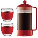 Bodum Brazil 8-Cup French Press, 2 12-oz. Mugs for $20 + free shipping