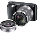 Sony Alpha NEX-F3 Camera w/ 18-55mm and 16mm lenses for $500 + free shipping