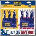 Irwin Speedbor 3-Piece Steel Max Speed Bit Set 2-Pack