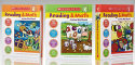 Scholastic Reading and Math Workbook Set