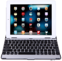 Aluminum Bluetooth 3.0 Keyboard Case/Stand for iPad