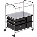 Honey-Can-Do 5-Drawer Hanging File Cart for $80 + pickup at Walmart
