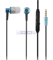 In-Ear Metal Headphones w/ Mic for $4 + free shipping