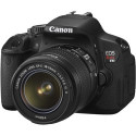 Refurb Canon Rebel T4i 18MP DSLR w/ 18-55mm Lens