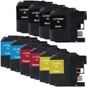 Brother-Compatible Inkjet Cartridge 10-Pack for $40 + $4 s&h