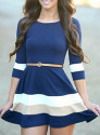 Sheinside Flare Dress
