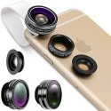 Neewer 3-in-1 Clip-On Mobile Device Lens Kit for $11 + free shipping w/ Prime