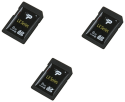 3 Patriot LX 8GB SDHC Flash Memory Cards for $15 + $3 s&h