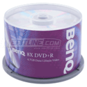 DVD Media Roundup: BenQ 8x DVD+R Media 100-Pack