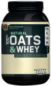 Optimum Natural Oats & Whey Shake Mix 3-lb. Tub