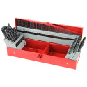 Feida 115-Piece High Speed Steel Drill Bit Set