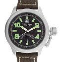 Akribos XXIV Men's Scouter Canteen Watch