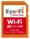 Eye-Fi Explore Video 802.11g Wireless 4GB SDHC Card