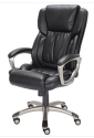 True Innovations Big & Tall Bonded Leather Chair