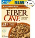 Fiber One Caramel Delight Cereal 16-oz. Box 4-Pack