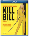 Kill Bill Volume 1 on Blu-ray each via Prime